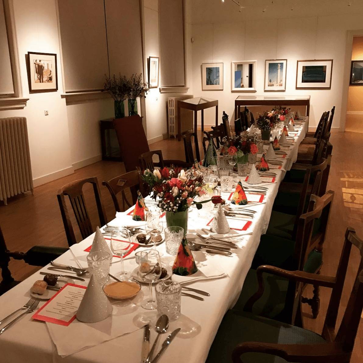 catering in een museum